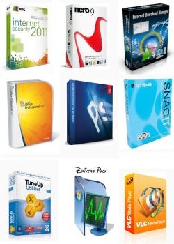 809507150173zue Mais Usados e Básicos Softwares Pack 2011