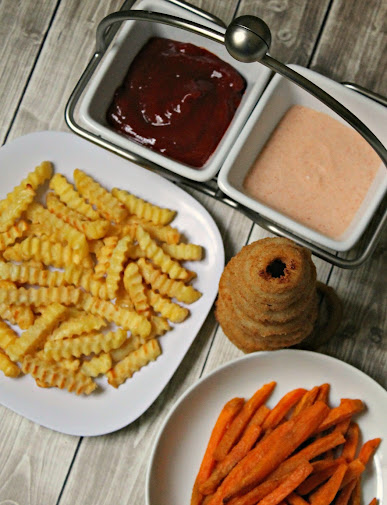 Smoky Ketchup recipe and Copycat Outback Bloom Sauce recipe with Alexia Fries, Sweet Potato Fries and Onion Rings #GameTimeGrub