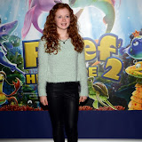 WWW.ENTSIMAGES.COM -    Maisie Smith  arriving at       The Reef 2: High Tide - VIP film screening at The Soho Hotel, 4 Richmond Mews, London October 20th 2013                                                 Photo Mobis Photos/OIC 0203 174 1069
