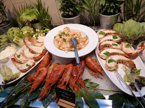 Photo: Part of the buffet on the 7th floor restaurant of the KaDeWe
