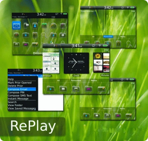 RePlay Theme for BlackBerry