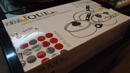 Slique 5-Piece Non-Stick Cookware