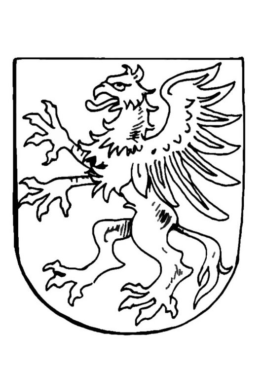 Medieval Coat of Arms coloring pages