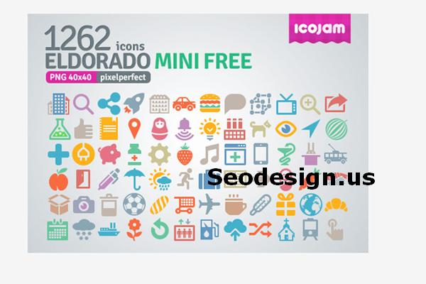 Free Eldorado Mini Icons Set