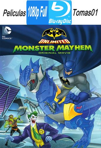 Batman Sin Limites Caos Monstruoso (2015) BRRipFull 1080p