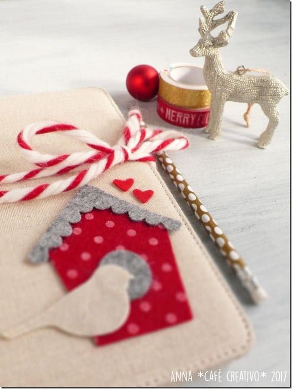 Porta Bloc Notes per Natale