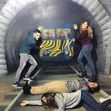 2018-10-23 Proves d'Accés visita el Museu de les Il·lusions
