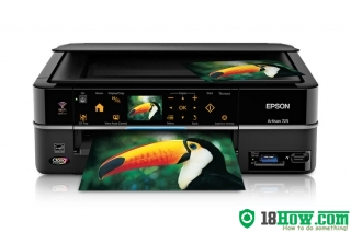 How to Reset Epson Artisan 725 flashing lights error
