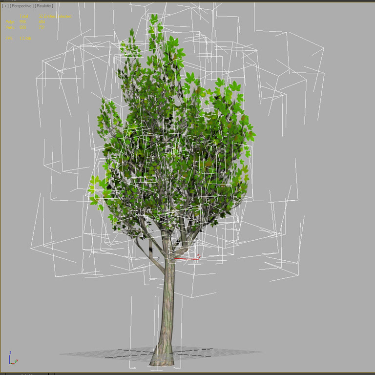mapleTreePolyCount
