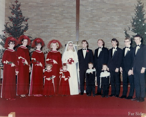 Dec 20 1969 Wedding party