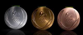 Voilà à quoi ressembleront les médailles des JO de Rio