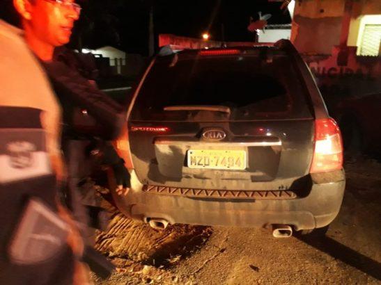 CPRE apreende veículos e prende suspeitos de assalto em São Paulo do Potengi