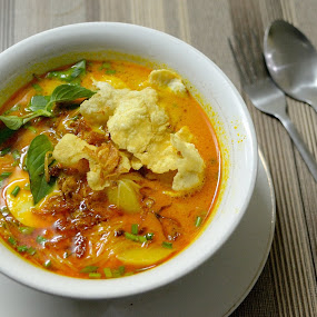 Laksa by Rudyanto A. Wibisono - Food & Drink Plated Food ( #laksa )