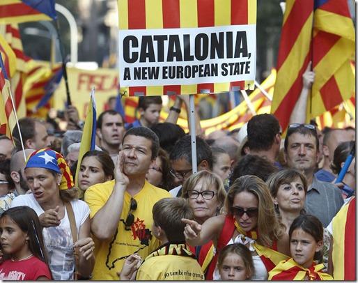 Manifestación 11 Setembre