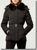 Warehouse Belted Wadded Coat