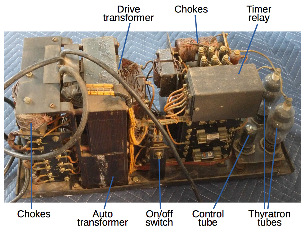 Glowing mercury thyratrons: inside a 1940s Teletype switching power