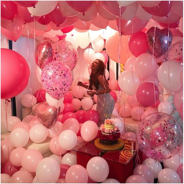 10 Balloons Surprise Ideas for Birthday