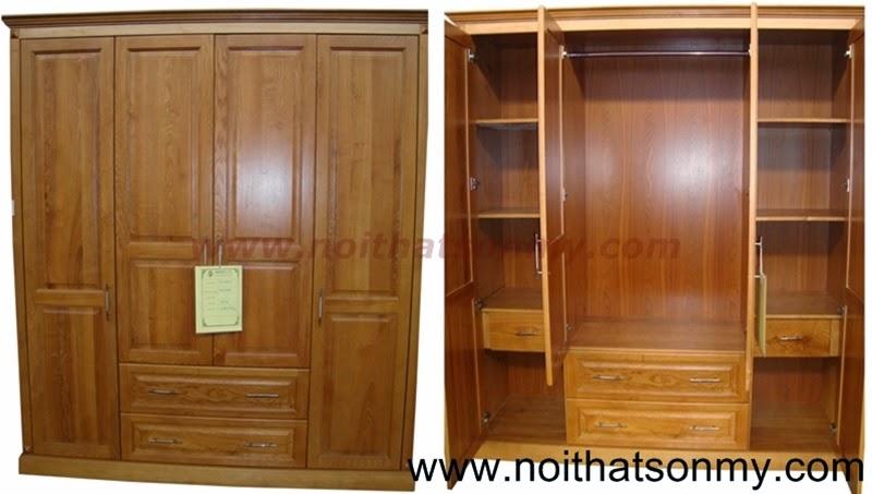 Tủ quần áo gỗ 26
