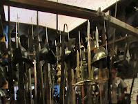 Igazi fegyvertár található a Fraknói várban.jpg