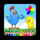 Galinha Pintadinha Coloring Book Mod