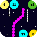Slither vs Circles: All in One Arcade Games icon