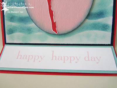 stampin up, happy day
