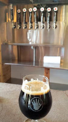 Left Hand Brewing Tasting Room - additional taps in the back
