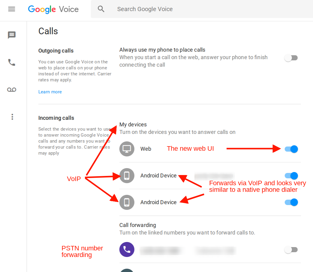No Ring Sound On My Side For Outgoing Calls Using Google Voice On