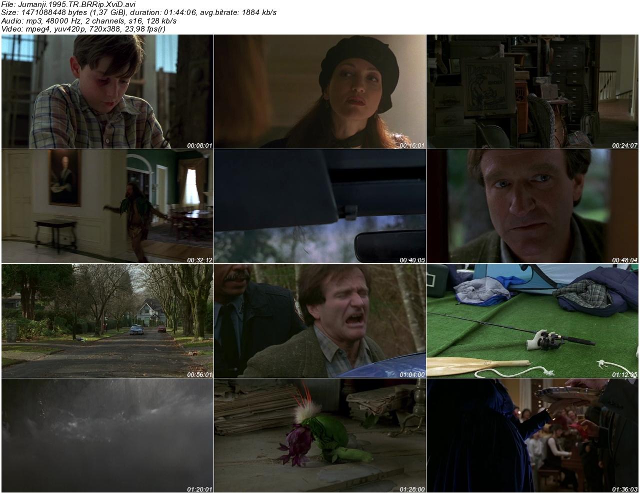 Jumanji 1995 - 1080p 720p 480p - Türkçe Dublaj Tek Link indir