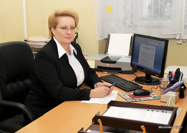 The Head of the Department of Management and Mathematical Modeling of Market Processes is Professor, Doctor of Economic Sciences Elena Sadchenko