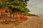 plaża na Gili Trawangan