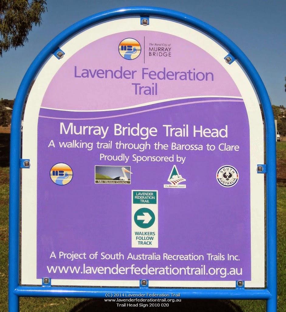Trail Head Sign 2010 020