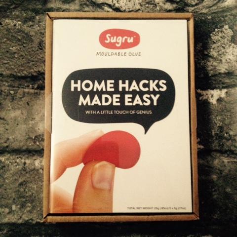 Home Hacks Made Easy - Sugru Starter Kit