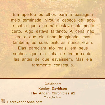 Goldhear, The Andari Chronicles - Kenley Davidson
