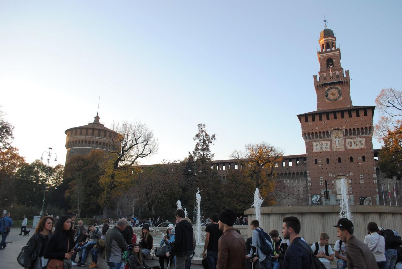 My Photos: Italy -- Milan -- Castello Sforzesco