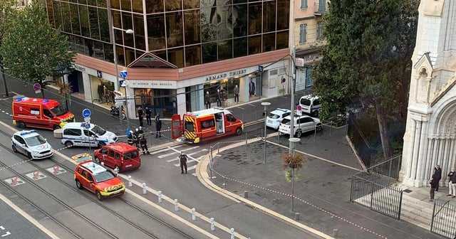 France hit by 'terror' attack as 'woman beheaded in church' and city shut down