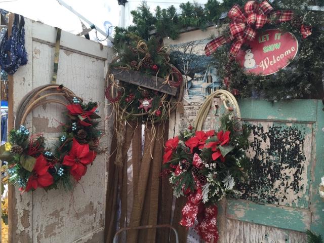 Western Christmas Rope Lasso Wreaths