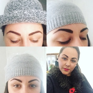 Semi-Permanent Hairstroke Eyebrows