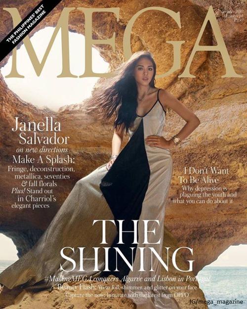 Janella Salvador for Mega Nov 2017