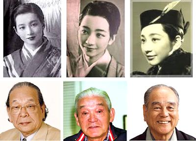 園井恵子、多々良純、佐野浅夫、江戸家猫八、広島被爆巡る偶然
