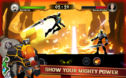 Stickman Shadow Legends - 2D Action RPG  captures d'écran 2