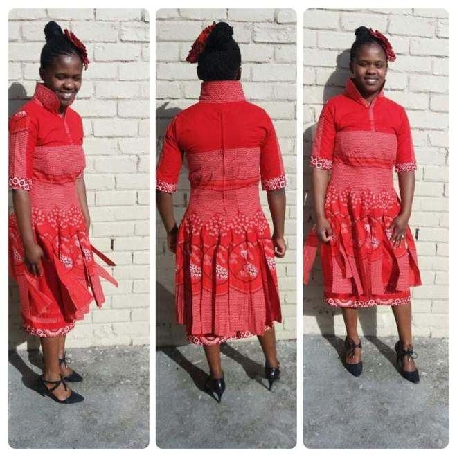 shweshwe Dresses  Smart Styles  2018
