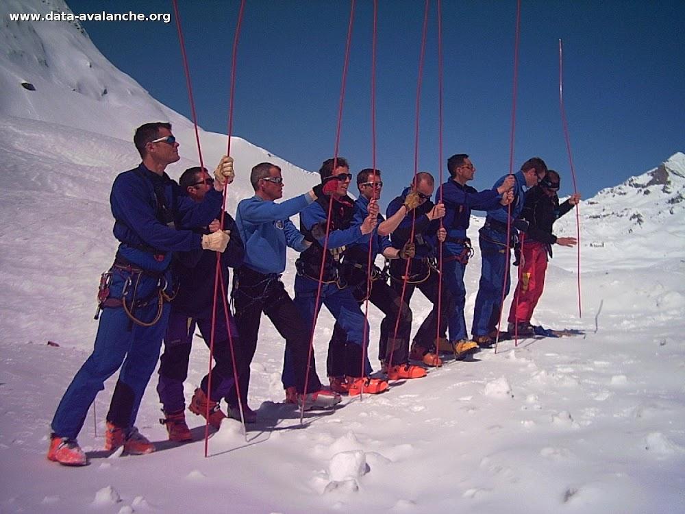 Avalanche Vanoise, secteur Grande Motte, Face Nord de Grande Motte - Photo 1