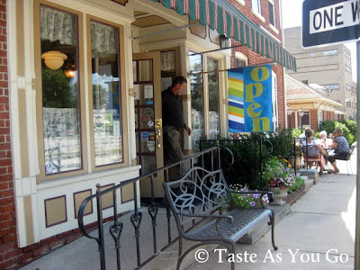 Exterior of Jumbars in Bethlehem, PA - Photo by Michelle Judd of Taste As You Go