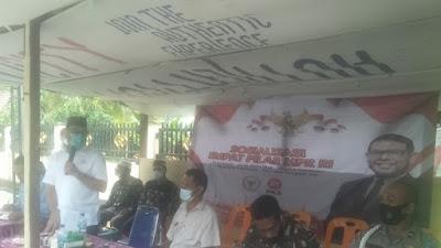 Nasir Jamil Sosialisasi 4 Pilar dan Penyerapan Aspirasi Masyarakat Pidie