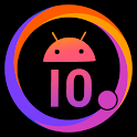 Cool Q Launcher for Android™ 10 launcher UI, theme icon
