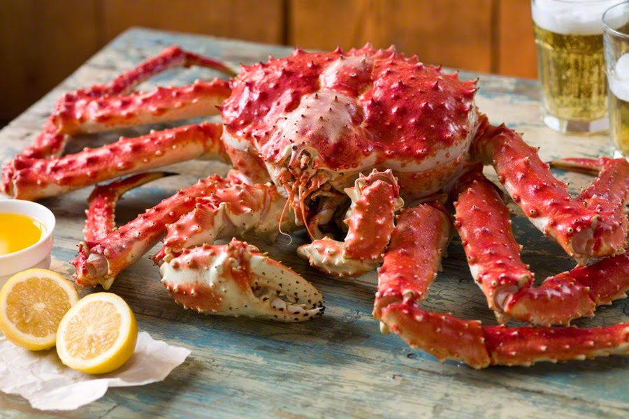 Giant King Crabs Crab King Red Alaska Whole