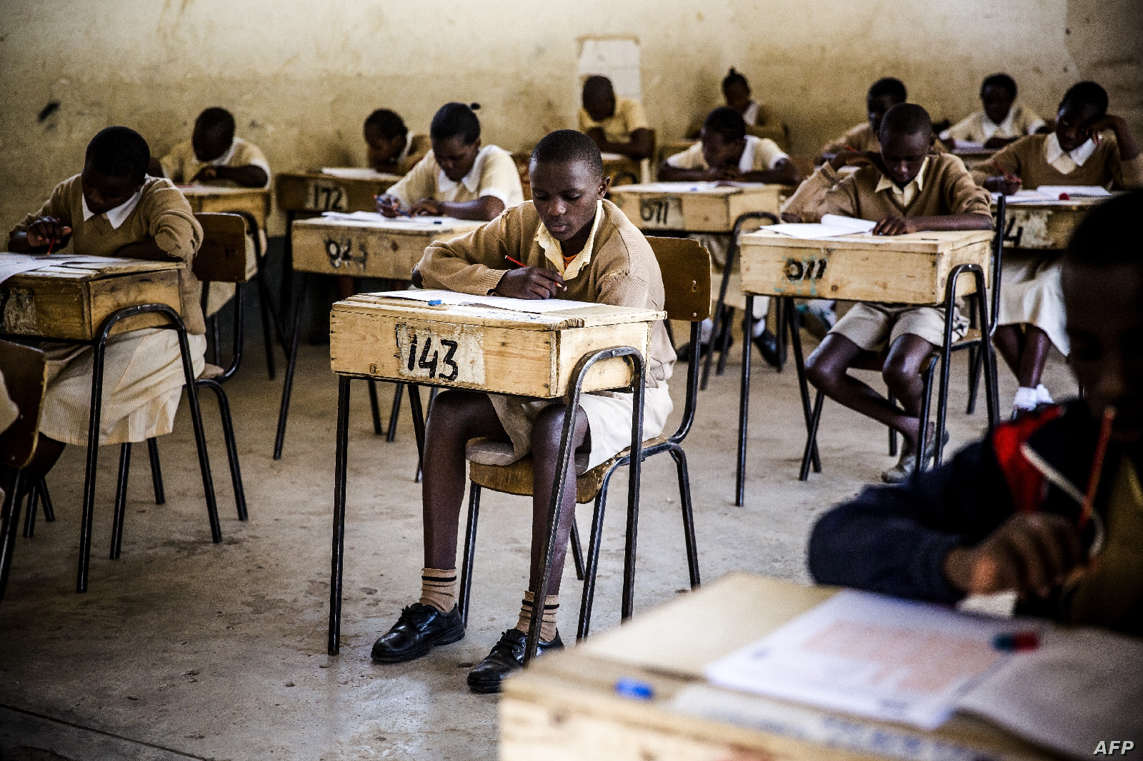KSCE exams are ongoing in Kenya Secondary school.