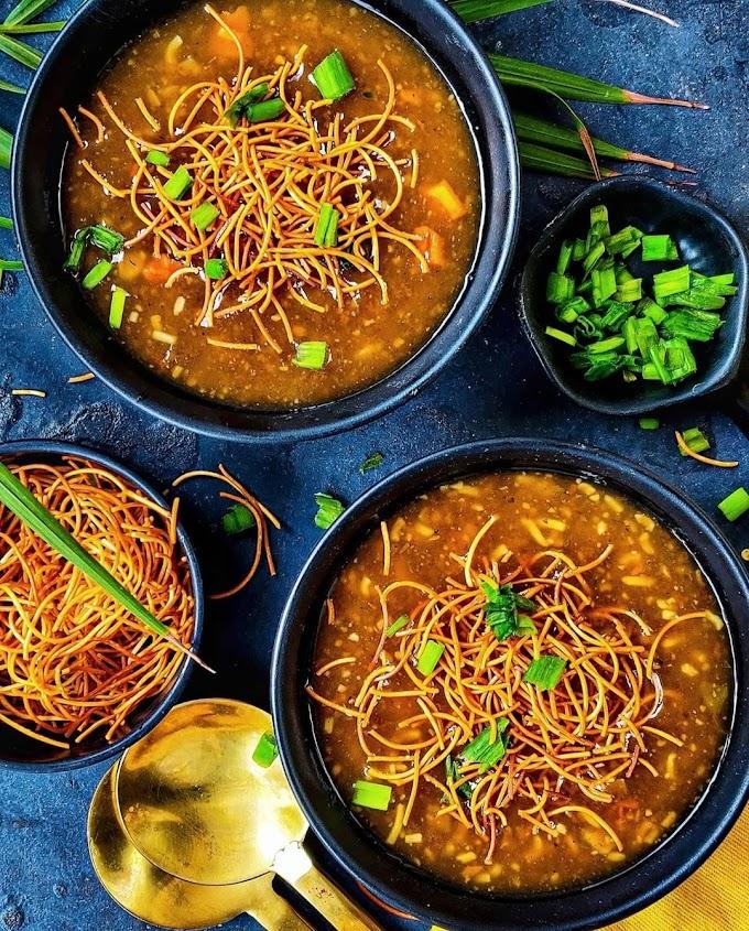 Veg Manchow Soup Recipe | Breakfast Care