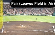 Fair (Leaves Playing Field In Air [Home Run])